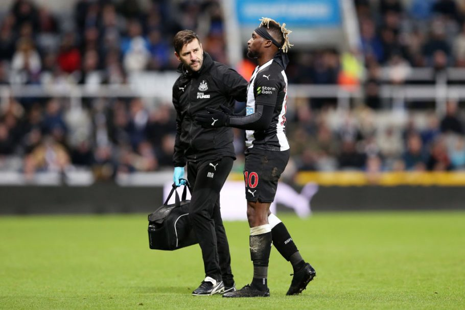 Newcastle triple injury blow explained as Saint-Maximin and Almiron suffer issues
