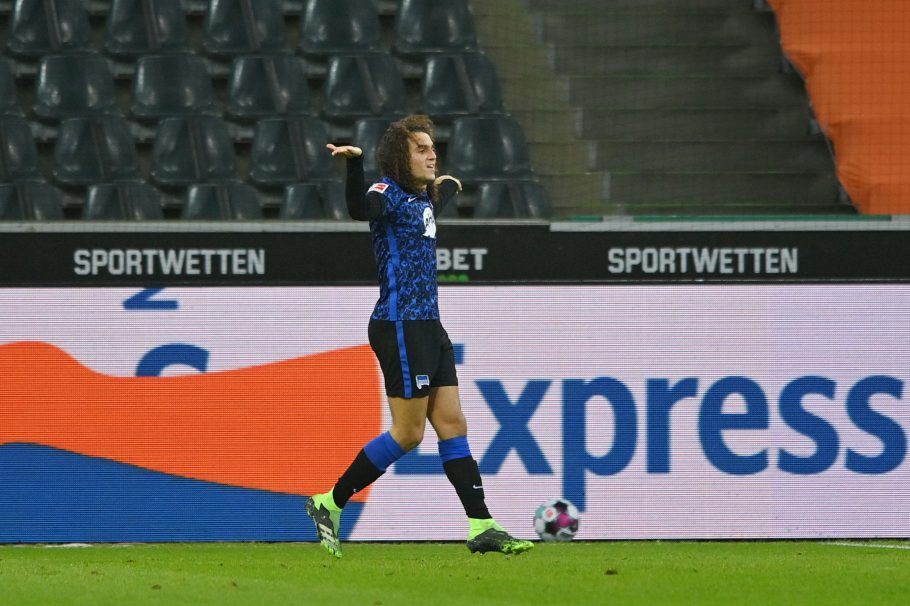 Video: Arsenal's Matteo Guendouzi in costly mistake as Hertha dragged ever-closer to relegation zone