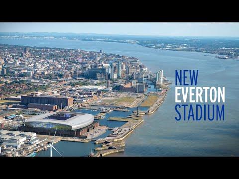 NEW EVERTON STADIUM | BRAMLEY-MOORE DOCK | VIRTUAL FLYTHROUGH