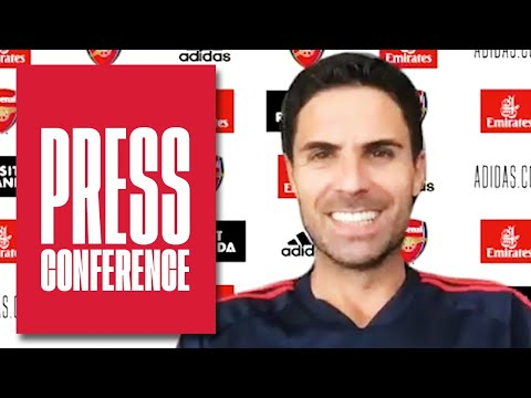 Mikel Arteta on Saka, Partey, Holding, Bellerin and Benfica | Press Conference