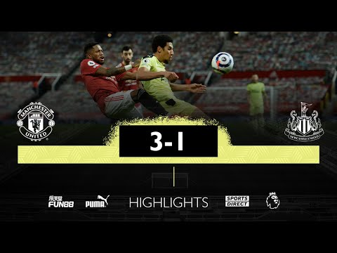 Manchester United 3 Newcastle United 1   Premier League Highlights