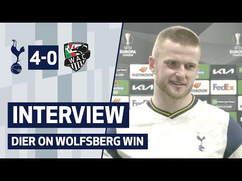 INTERVIEW   Spurs 4-0 Wolfsberger AC   Eric Dier speaks after Wolfsberger AC win