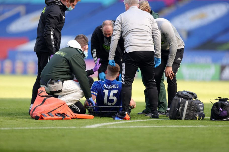 Brendan Rodgers confirms Harvey Barnes surgery and hopeful of James Maddison return to training this week