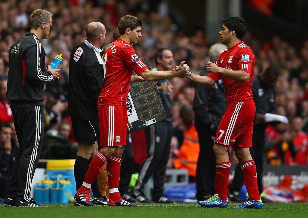 Steven Gerrard & Luis Suarez