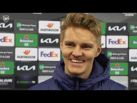 Odegaard on his first Arsenal goal & a great away win | Olympiacos 1-3 Arsenal