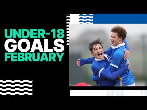 Under-18 Goals: Three from Three in February