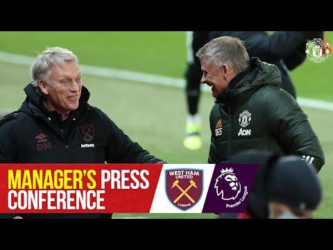 Manager's Press Conference | Manchester United v West Ham | Ole Gunnar Solskjaer | Premier League