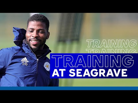 Foxes Train Ahead Of Blades Game | Leicester City vs. Sheffield United | 2020/21