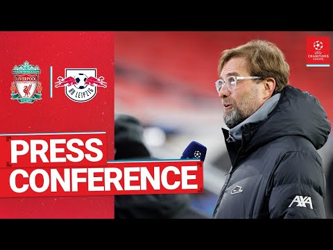 Liverpool's Champions League press conference   RB Leipzig