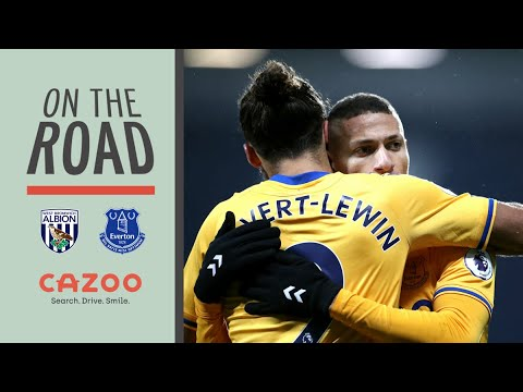 RICHARLISON IS ON FIRE!   ON THE ROAD: WEST BROM V EVERTON