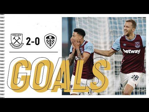GOALS   WEST HAM UNITED 2-0 LEEDS UNITED