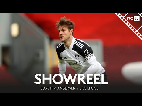 Showreel: MOTM Joachim Andersen leads by example at Anfield