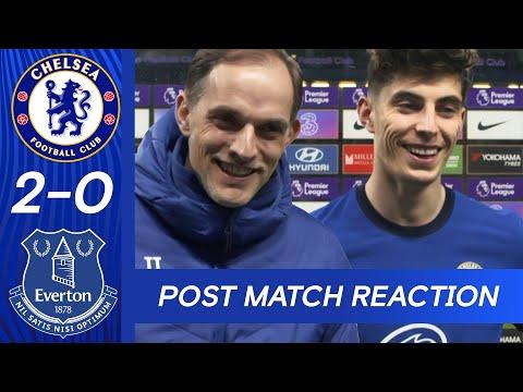 Thomas Tuchel & Kai Havertz on the Blues performance over Everton | Chelsea 2 -0 Everton