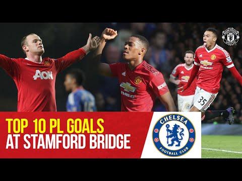 Manchester United's Top 10 Premier League Goals At Chelsea   Chelsea v Manchester United  