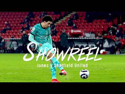 Showreel: Curtis Jones' brilliant midfield display against Sheffield United