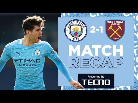 20 WINS ON THE SPIN | MATCH RECAP | CITY 2-1 WEST HAM