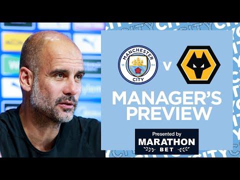 PEP GUARDIOLA PRESS CONFERENCE | Man City v Wolves | Premier League
