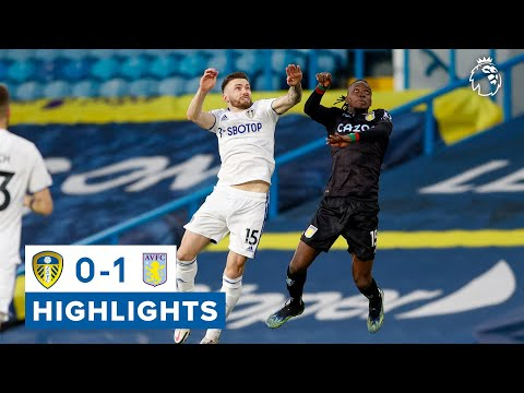 Leeds United 0-1 Aston Villa   Premier League highlights