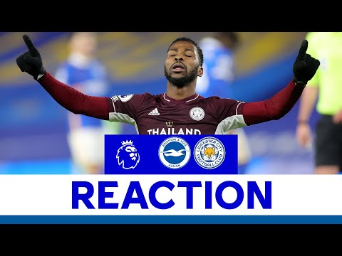 'We're All Delighted!' - Kelechi Iheanacho   Brighton & Hove Albion 1 Leicester City 2