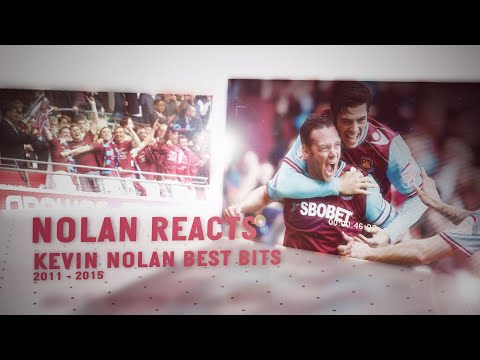 KEVIN NOLAN REACTS | 2012 PLAY-OFF FINAL & WEST HAM BEST BITS